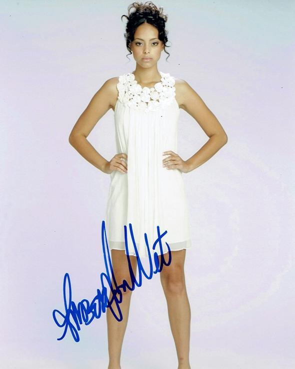 Amber Stevens Signed Photo