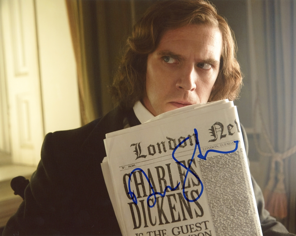 Dan Stevens Signed Photo