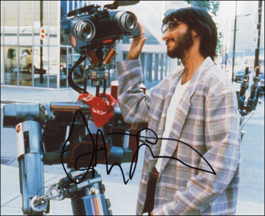 Fisher Stevens Signed Photo