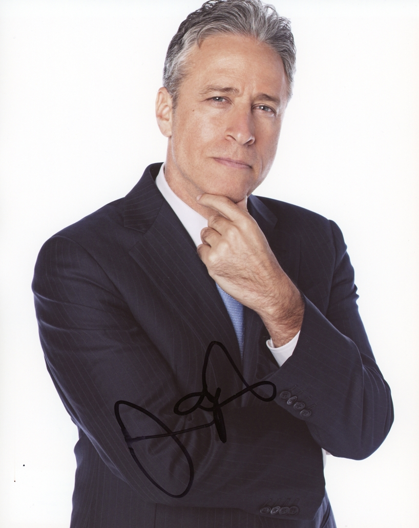Jon Stewart Signed Photo