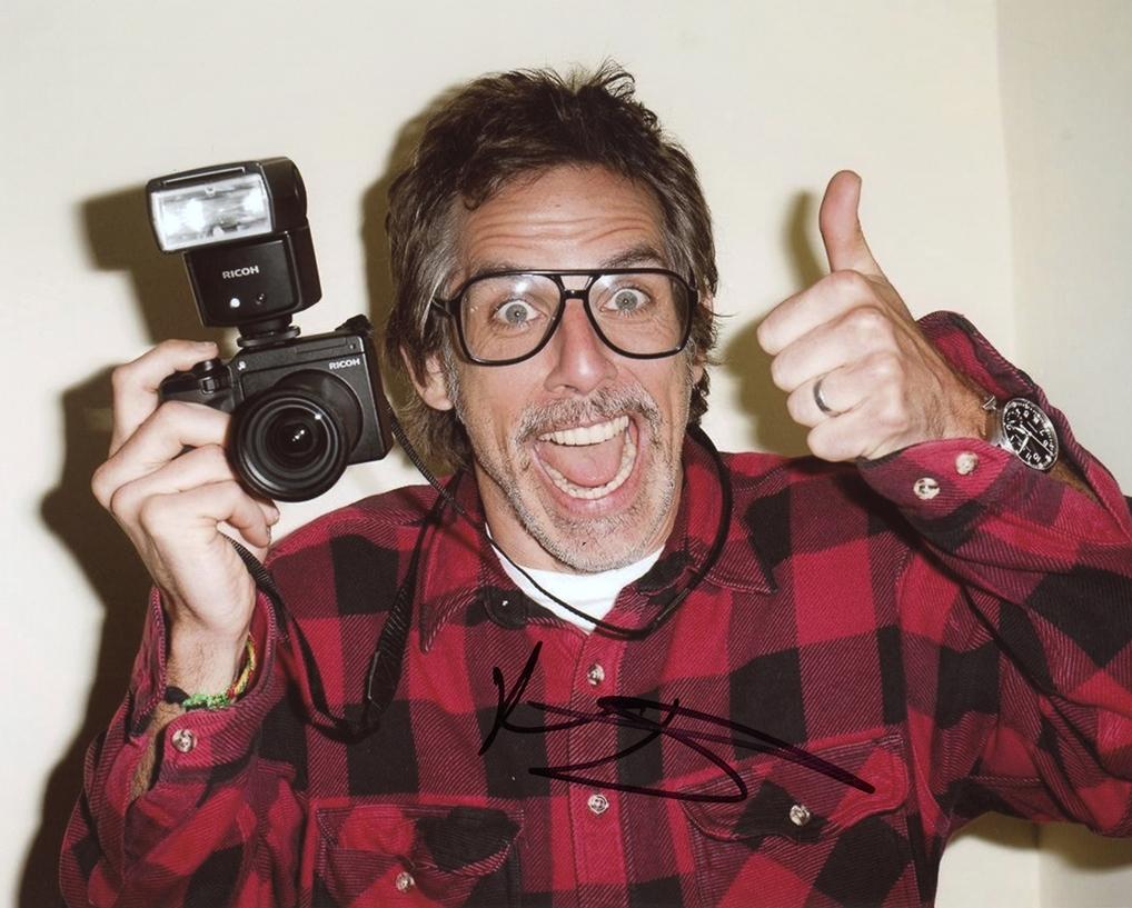 Ben Stiller Signed Photo