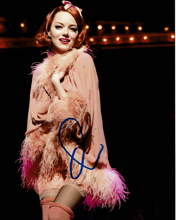 Emma Stone Signed Photo