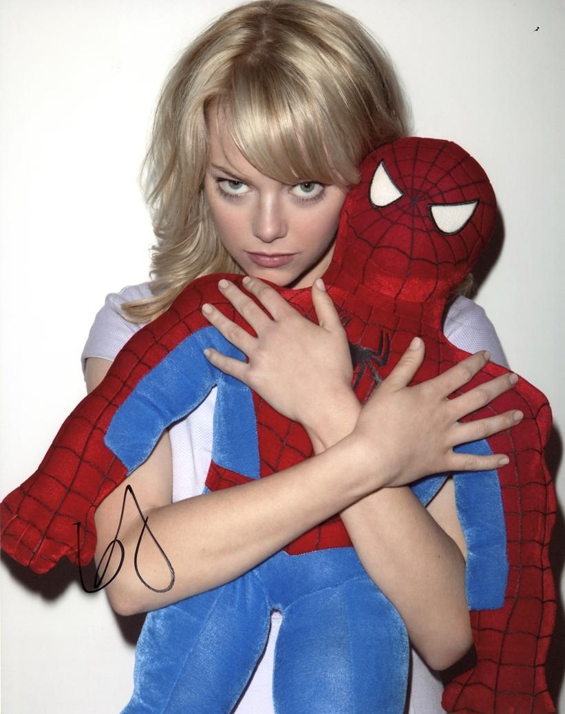 Emma Stone Signed Photo