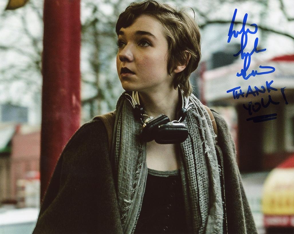 Julia Sarah Stone Signed Photo