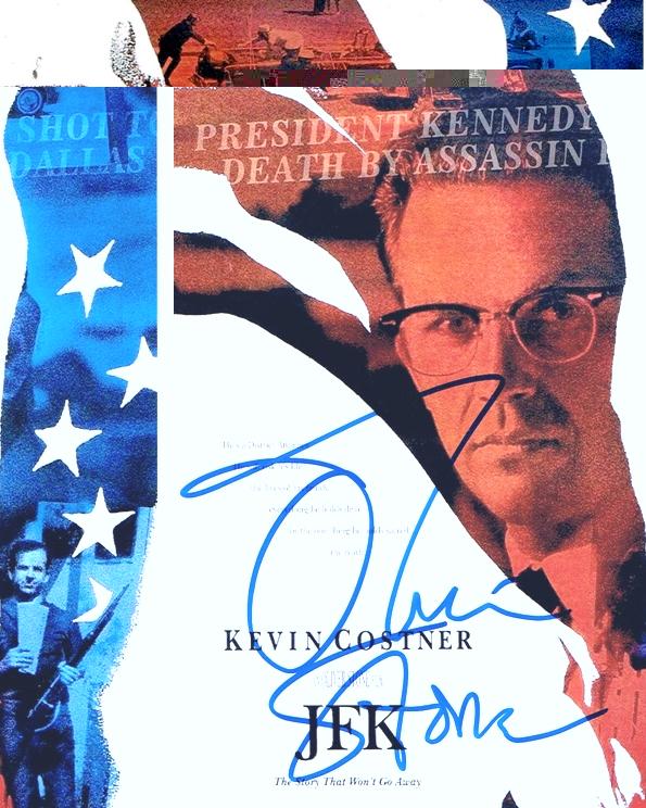 Oliver Stone Signed Photo