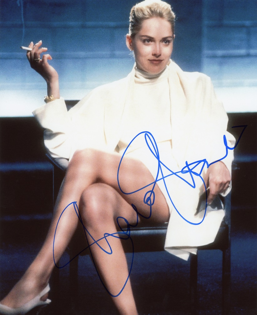 Sharon Stone Signed Photo