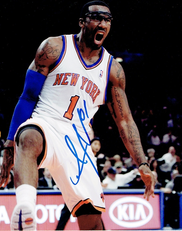 Amare Stoudemire Signed Photo