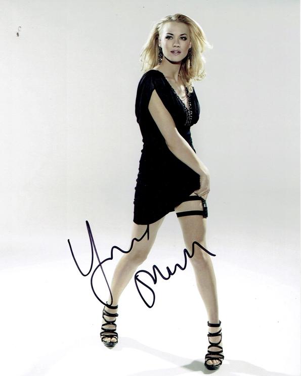 Yvonne Strahovski Signed Photo