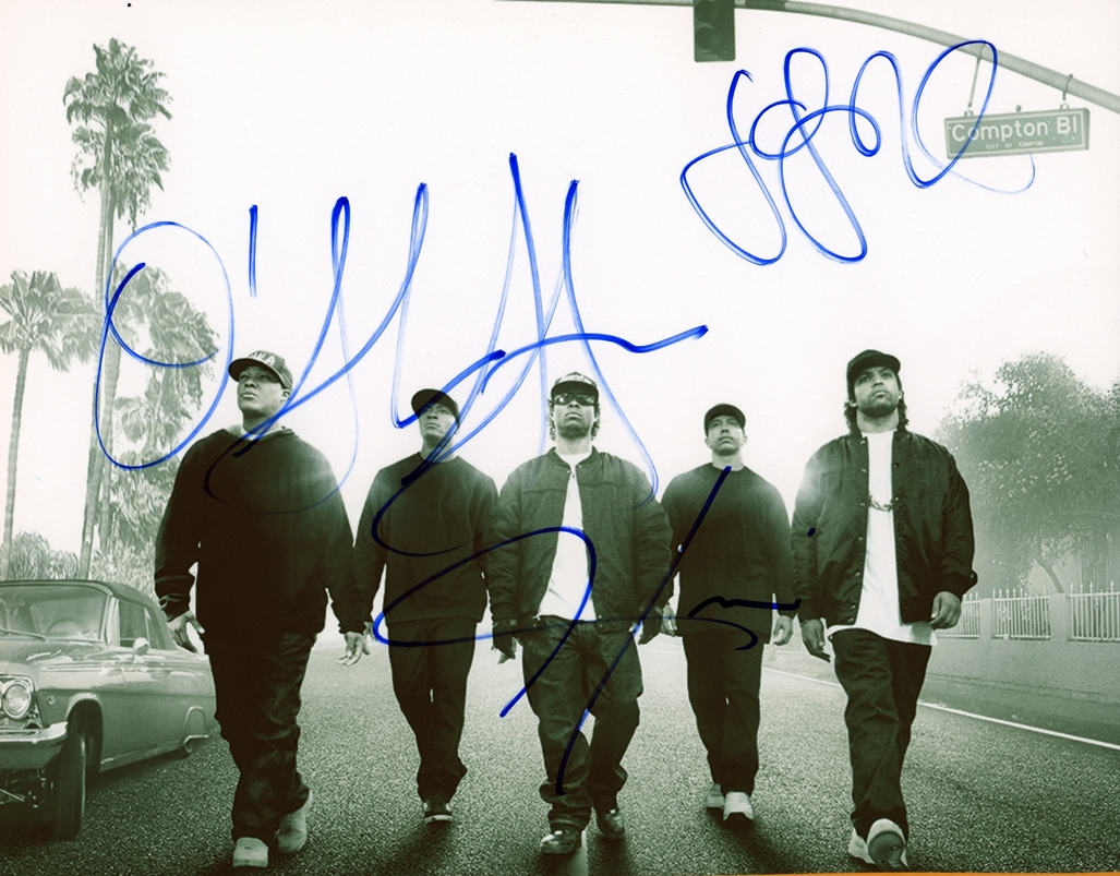 Straight Outta Compton Signed Photo