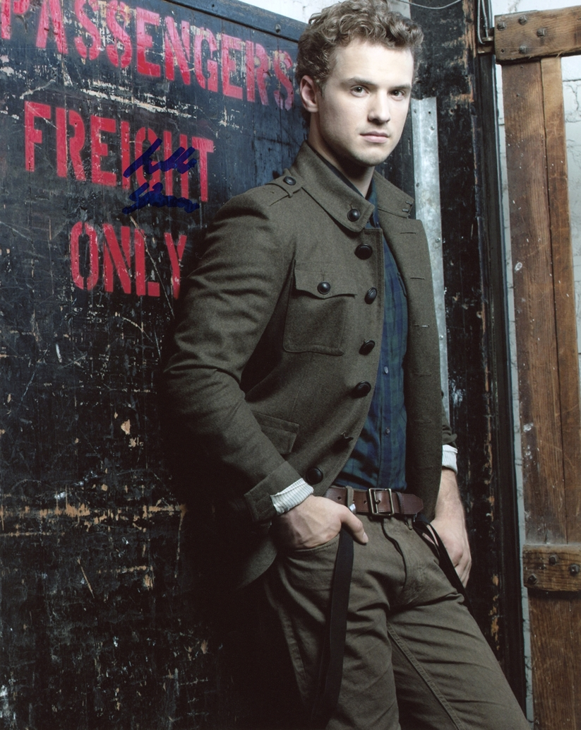 Freddie Stroma Signed Photo