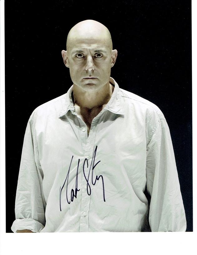 Mark Strong Signed Photo