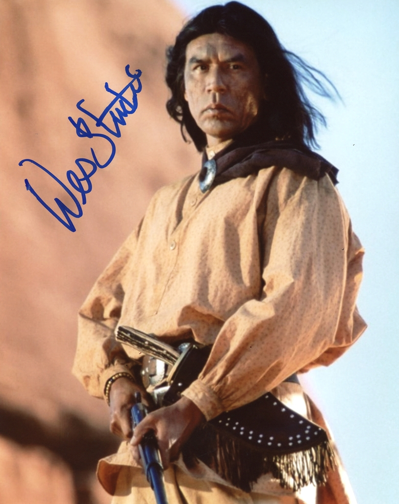 Wes Studi Signed Photo