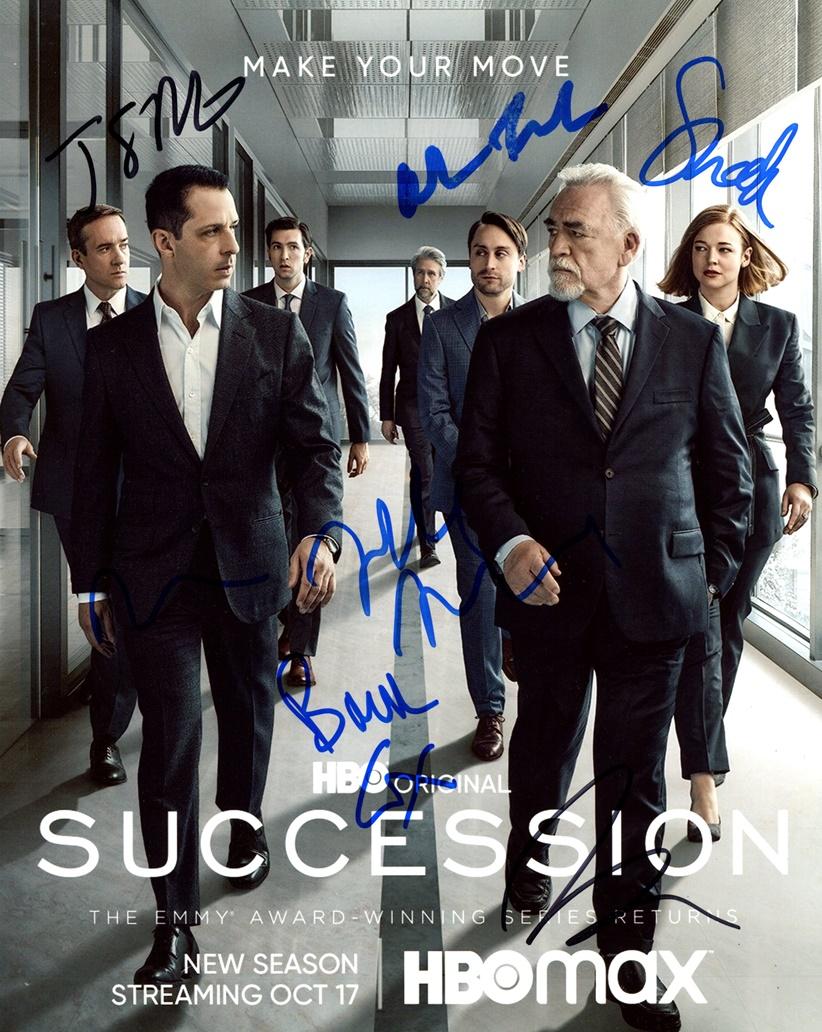 Succession Signed Photo