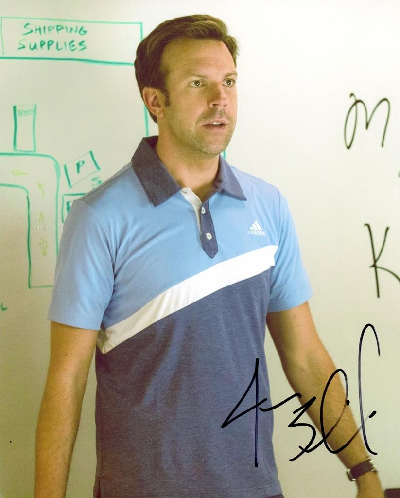 Jason Sudeikis Signed Photo