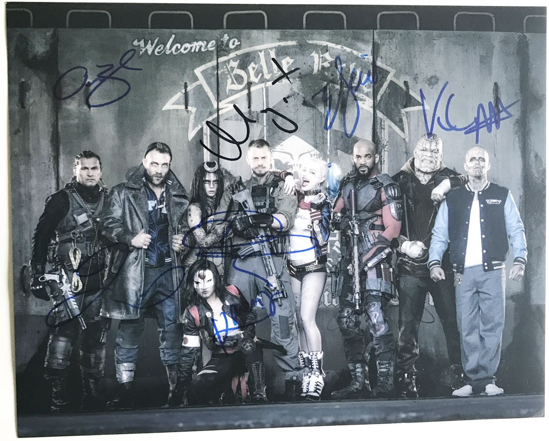 Suicide Squad Signed Photo