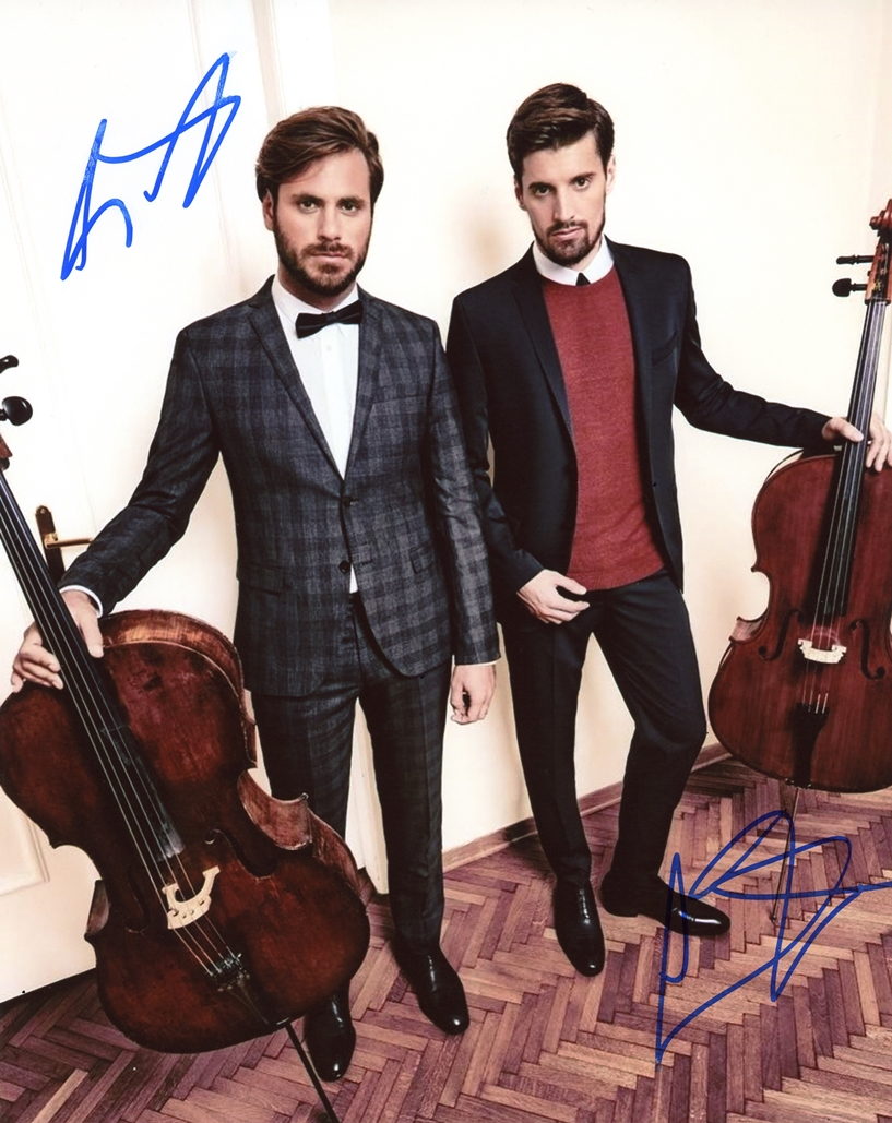 Luka Sulic & Stjepan Hauser Signed Photo