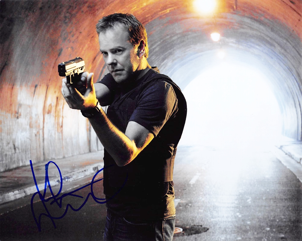 Kiefer Sutherland Signed Photo