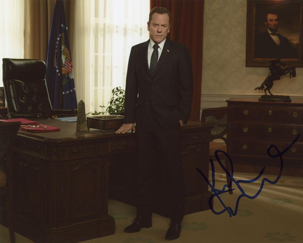 Kiefer Sutherland Signed Photo