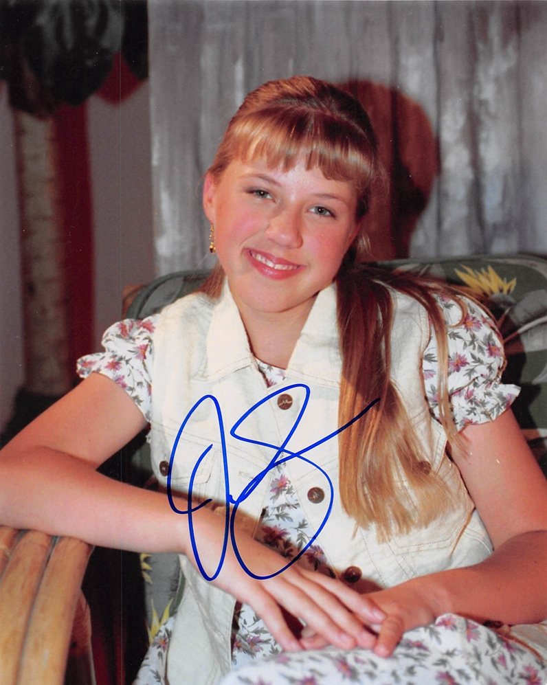 Jodie Sweetin Full House Autograph Signed 8x10 Photo E