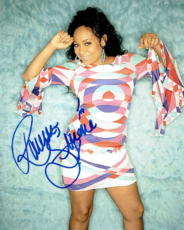 Raven Symone Signed Photo