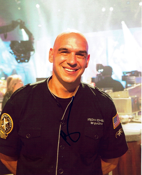 Michael Symon Signed Photo