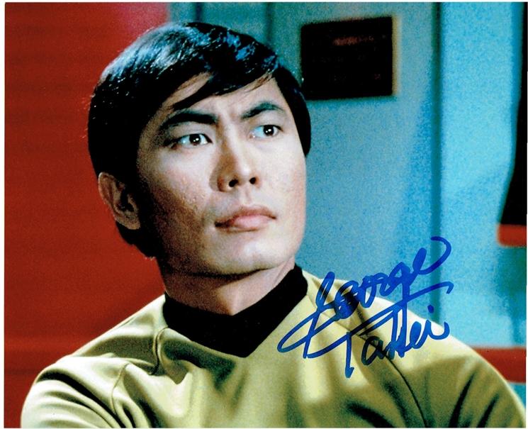 George Takei Signed Photo
