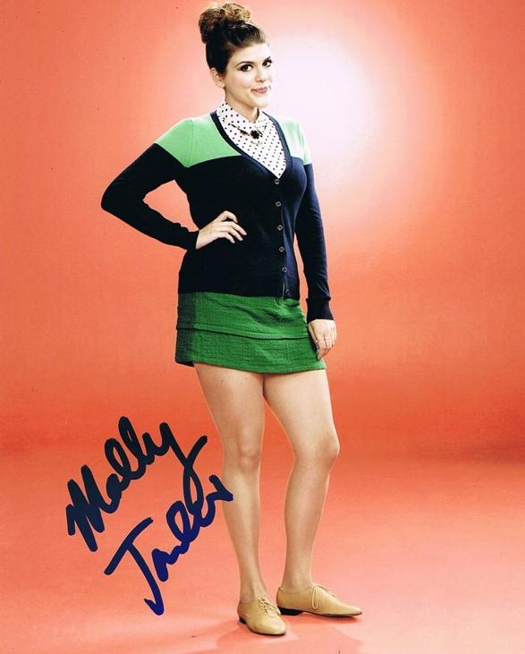 Molly Tarlov Signed Photo