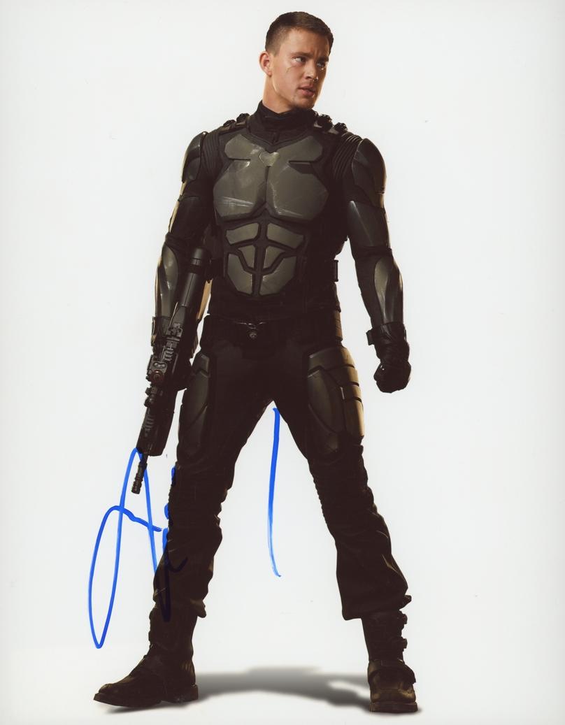 Channing Tatum Signed Photo