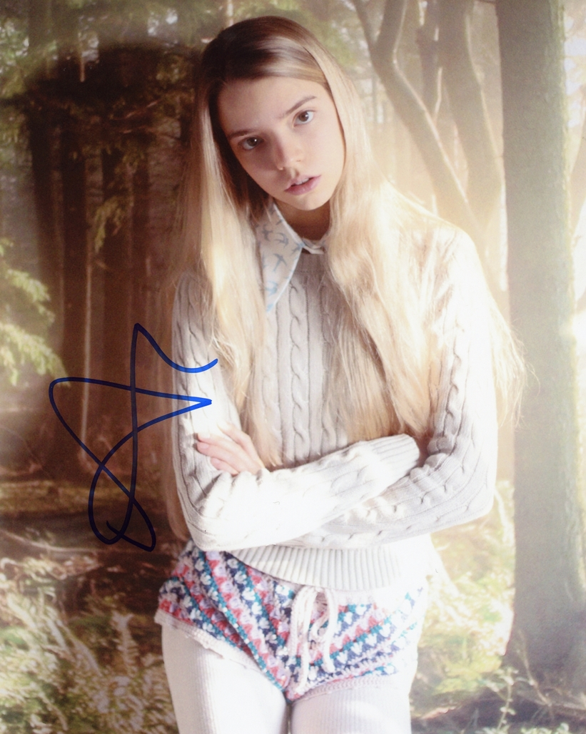 Anya Taylor-Joy Signed Photo
