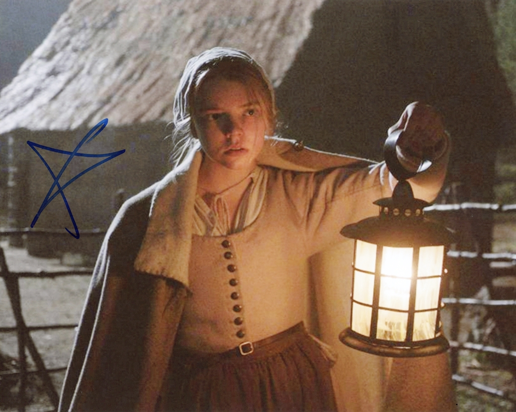 Anya Taylor-Joy Signed Photo
