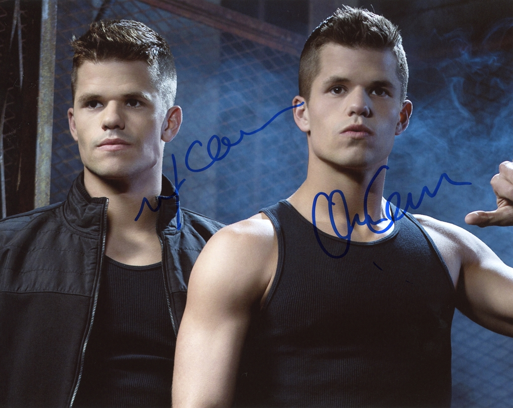 Max & Charlie Carver Signed Photo