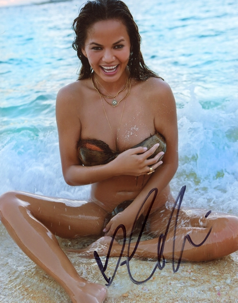 Chrissy Teigen Signed Photo