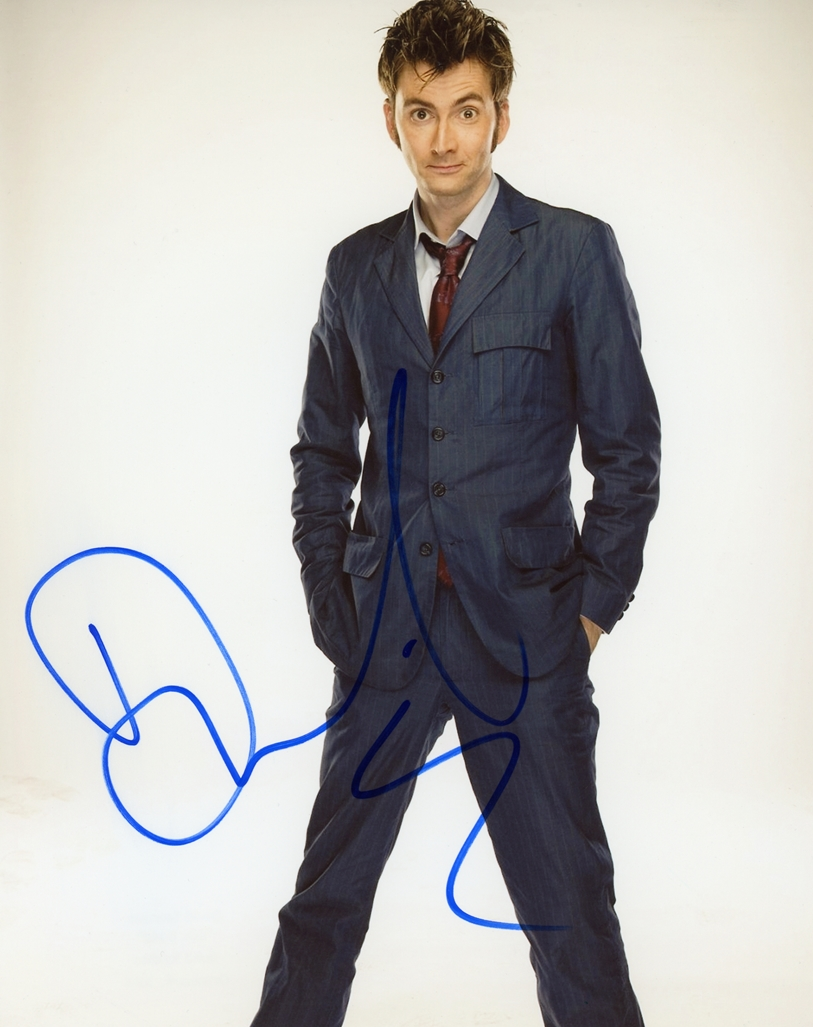 David Tennant Signed Photo