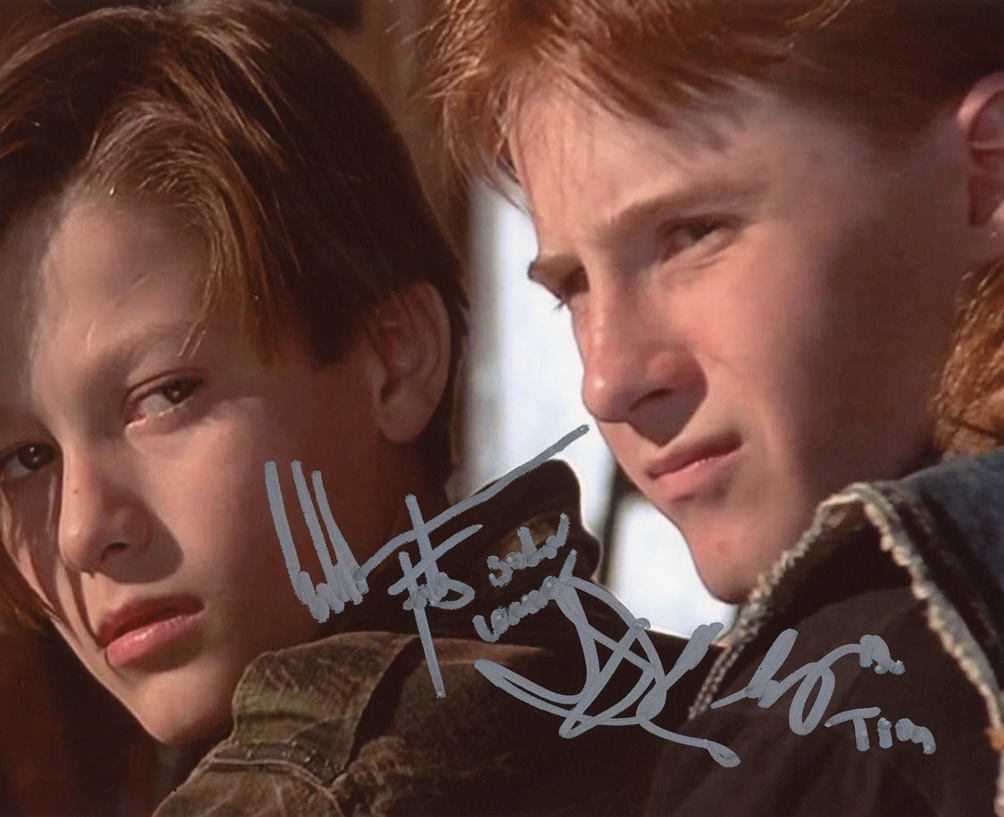 Edward Furlong & Danny Cooksey Signed Photo