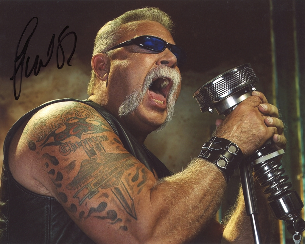Paul Teutul, Sr. Signed Photo