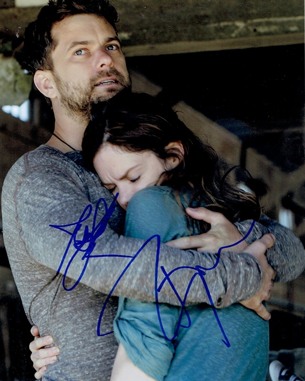 Joshua Jackson & Ruth Wilson Signed Photo