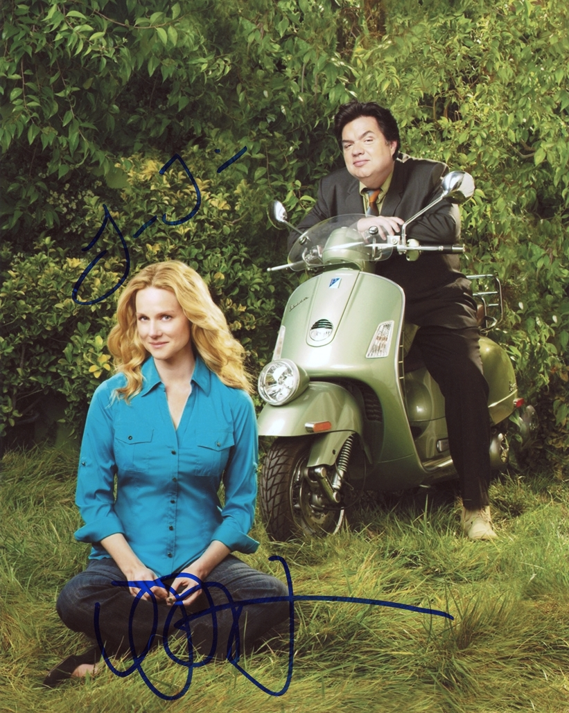 Laura Linney & Oliver Platt Signed Photo