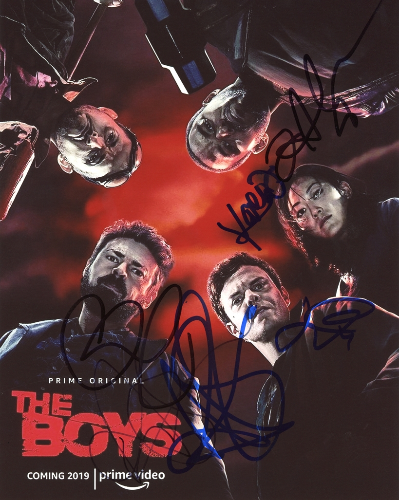The Big Bang Theory Signed Photo