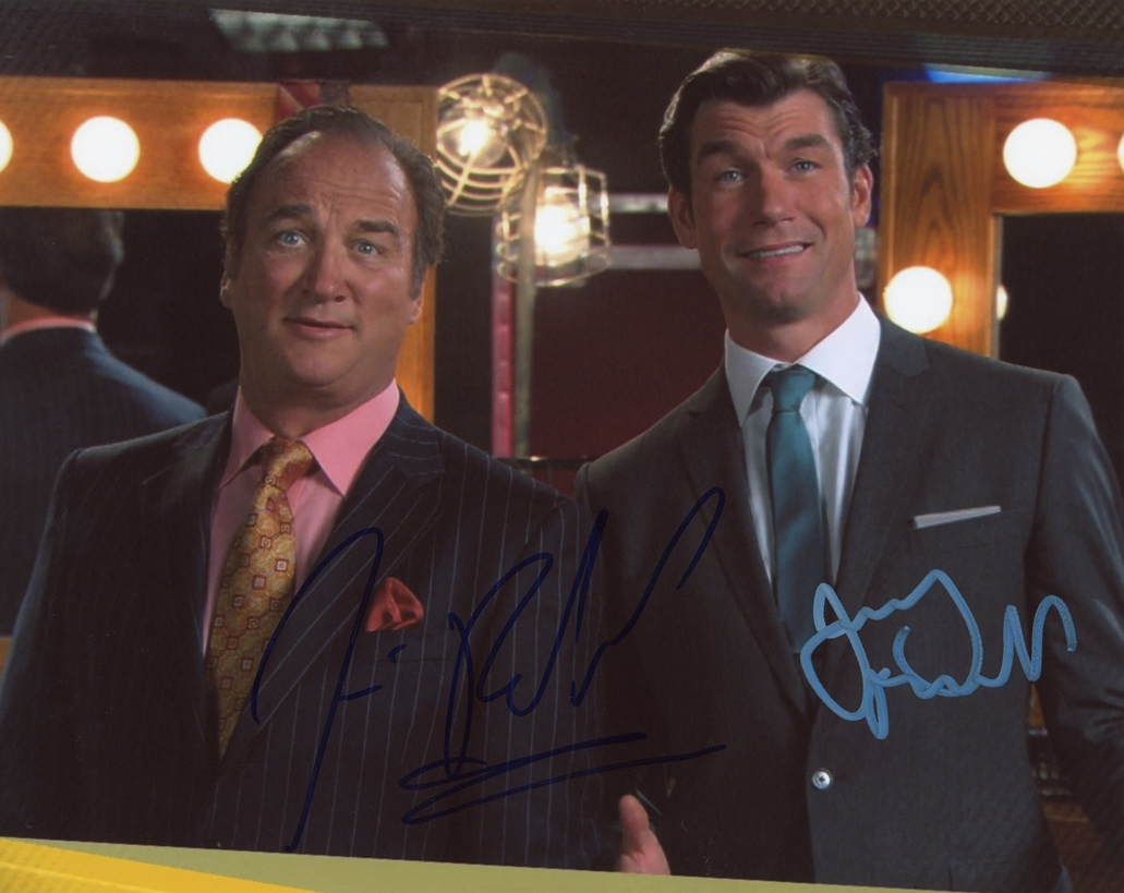 Jim Belushi & Jerry O'Connell Signed Photo