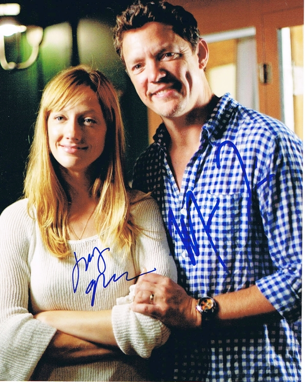 Judy Greer & Matthew Lillard Signed Photo
