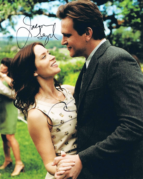 Jason Segel & Emily Blunt Signed Photo