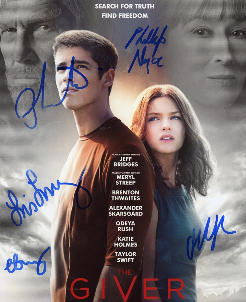 The Giver Signed Photo