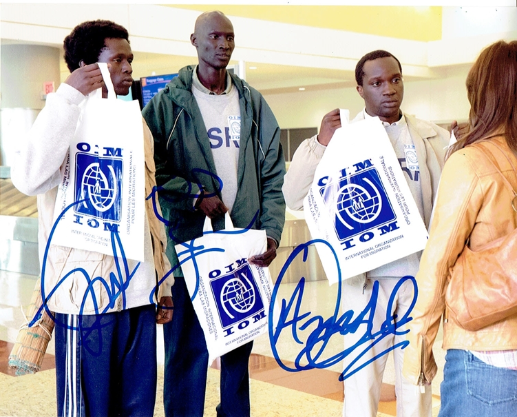 The Good Lie Signed Photo