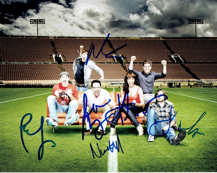 The League Cast Signed Photo