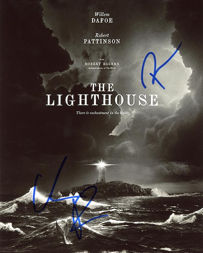 Willem Dafoe & Robert Eggers Signed Photo