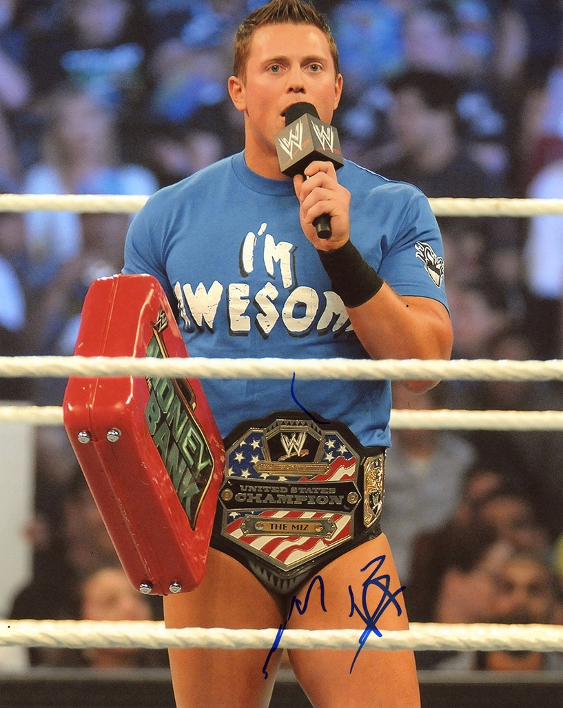 The Miz Signed Photo