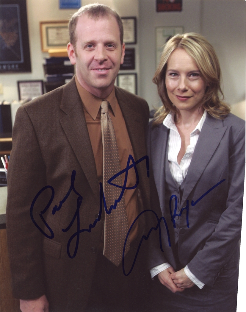 Paul Lieberstein & Amy Ryan Signed Photo