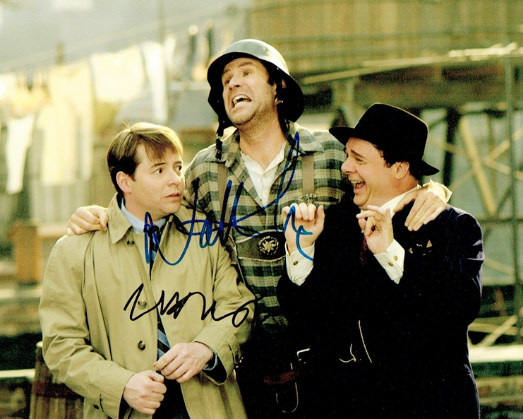 Nathan Lane & Matthew Broderick Signed Photo