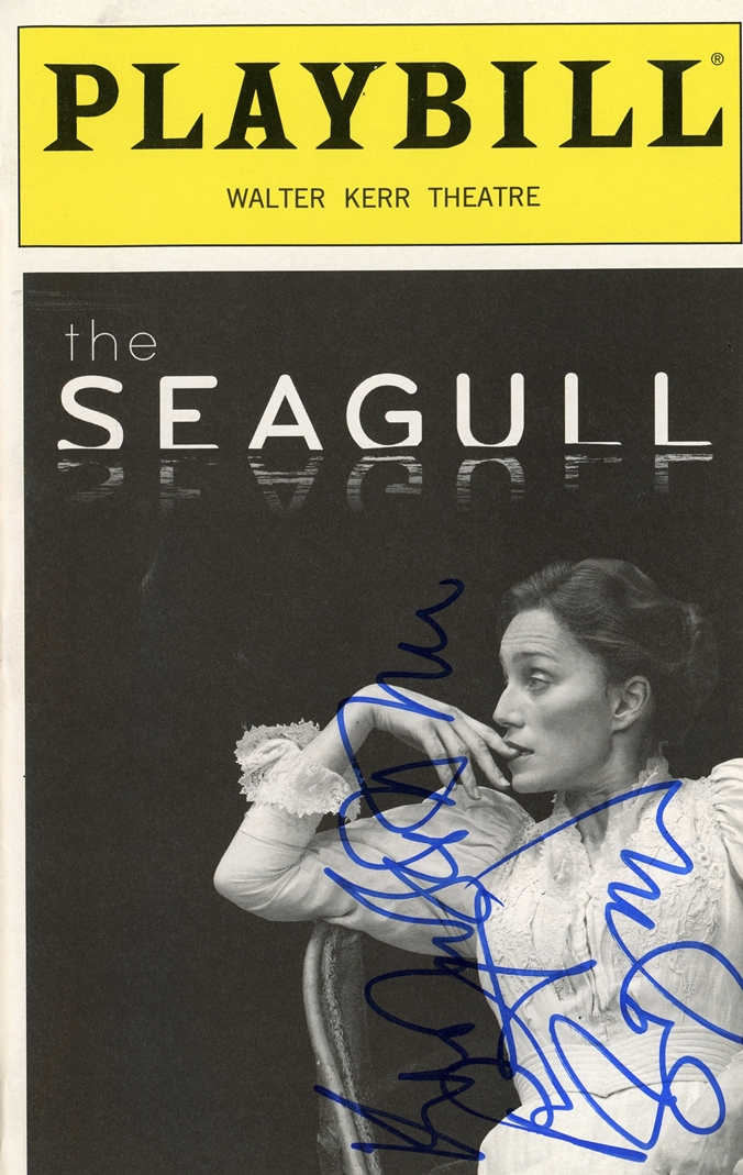 The Seagull Signed Playbill