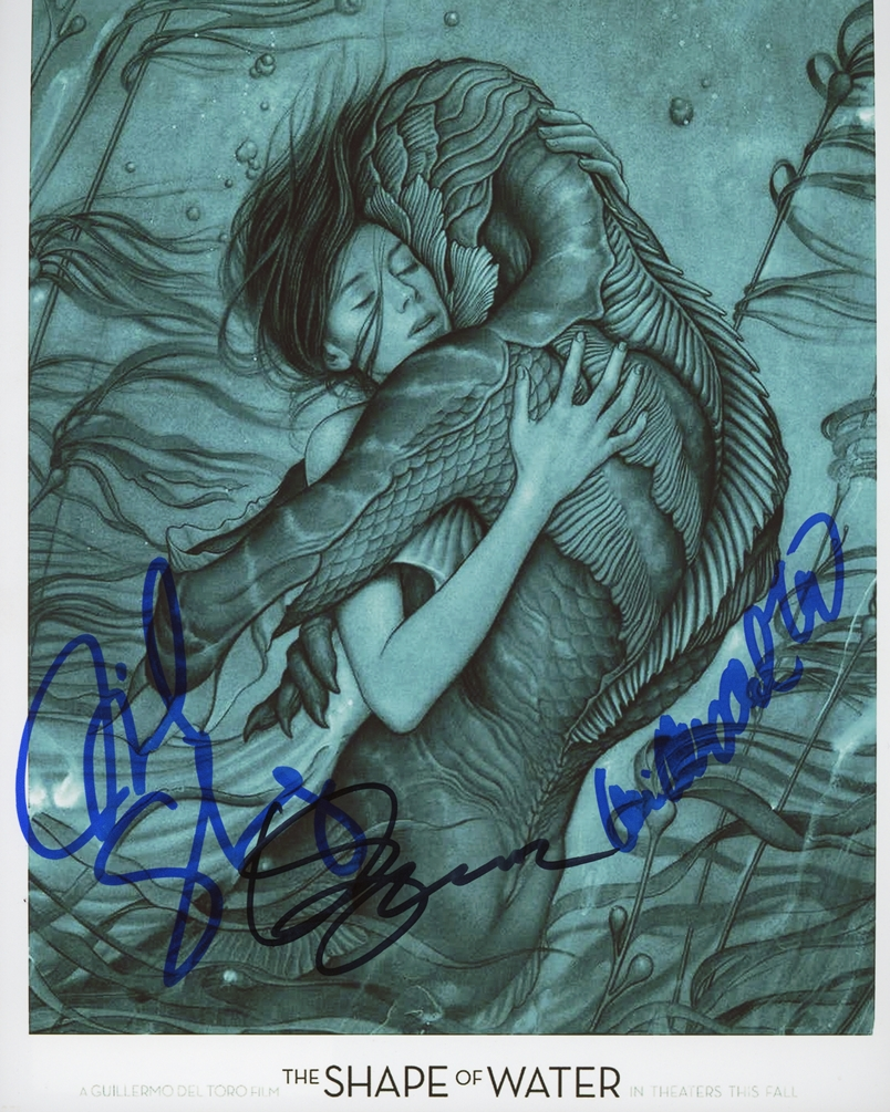 The Shape of Water Signed Photo